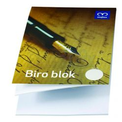 BLOCCO STENO BLOCK NOTES A5 SENZA RIGHE