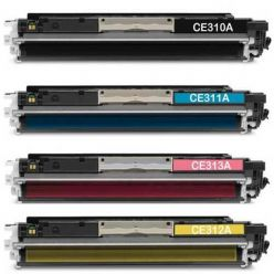 Toner compatibile 311A CE311A 126A CIANO HP Laserjet Pro100 Color MFP M175NW M175A CP1025NW