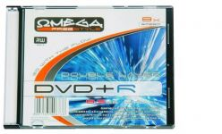 DVD+R DL Omega 8.5 GB 240 min 8 x Double Layer in Slim Case