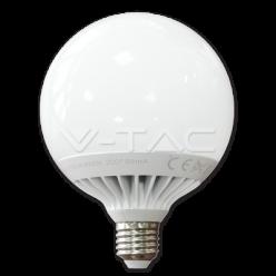 LAMPADINA LED V-Tac E27 15 WATT GLOBO G120-Bianco Naturale