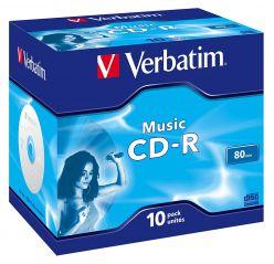 VERBATIM CD-R AUDIO MUSIC - 43365 10PZ