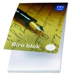BLOCCO COLLATO BLOCK NOTES A6 BIANCO