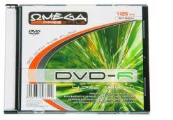 DVD-R Omega 4.7 GB 120 min 16x in Slimcase