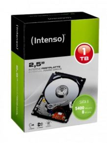 HDD INTENSO INTERNO 1TB SATA3GB/S 8MB 5400 2L 6501161