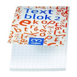 BLOCCO COLLATO BLOCK NOTES 7X11CM QUADRETTI 5mm