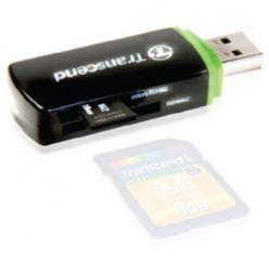 LETTORE/SCRITTORE ESTERNO USB 9in1 SD/MMC TRANSCEND TS-RDP5K