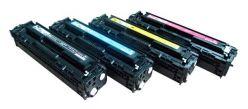 Toner compatibile 540A CB540A 125A NERO HP Color Laserjet CP1215 CP1215n CP1518ni CM1312 CM1312nfi