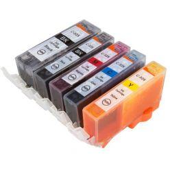Cartuccia compatibile PGI-525BK Nero stampante Canon PIXMA IP 4820 4850 MG 5120 5220 5150 5250 6120 8120 Wireless 5220 6120 8120 IX 6550 MX 885 cli526