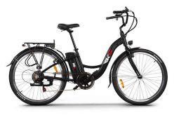 bici elettrica RKS MB6 nera