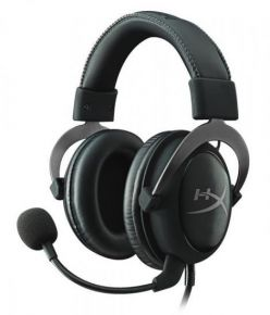 CUFFIE HYPER X Cloud II Gaming Gun Metal KHX-HSCP-GM