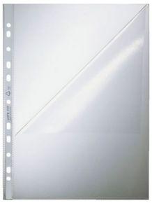 BUSTA A FORATURA TRASPARENTE A4 Con Apertura a L LEITZ 4797 in confezione da 100 Pezzi