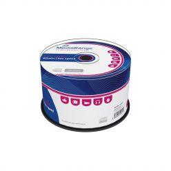 CD-R 52X 700MB 80 Minuti MEDIARANGE in Campana da 50 pz MR207