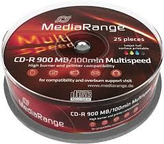 CD-R 900MB 100min INKJET FULL PRINTABLE MR243