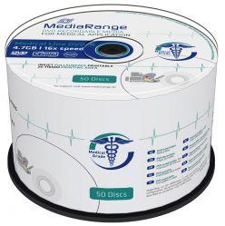 DVD-R STAMPABILI MEDICAL LINE INKJET PRINTABLE MR429