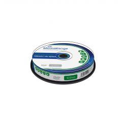 DVD-RW 4X MEDIARANGE In Campana da 10 Pezzi MR450