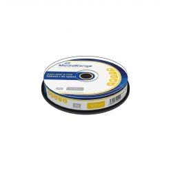 DVD+RW 4x 4.7GB 120 Minuti in Campana da 10 Pezzi MR451 MEDIARANGE