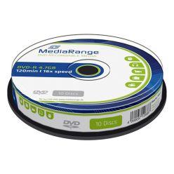 DVD-R 4.7GB 16X 120MIN CAMPANA 10PZ MR452