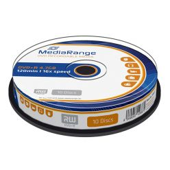 DVD+R 4.7GB 16X 120MIN CAMPANA 10PZ MR453