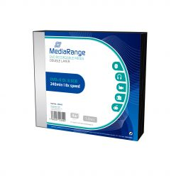 DVD+R DL Double Layer 8.5GB 240Min 8x SLIMCASE da 5 DVD MR465
