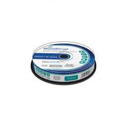 DVD+R Double Layer 8.5 GB 8x Stampabili Inkjet Fullsurface Printable in campana da 10 MR468