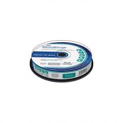 DVD+R Double Layer 8.5 GB 8x Stampabili Inkjet Fullsurface Printable in campana da 10 MR468