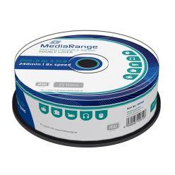 DVD+R DL 8X 8.5GB 240 Min DOUBLE LAYER CAMPANA 25PZ MR469