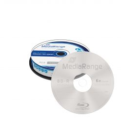 BD-R 25GB 6x In Campana da 10 Pezzi Blu-ray MR499