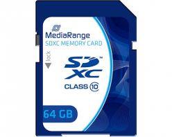 SCHEDA SDXC 64GB C10 60MB/s,15MB/s MEDIARANGE MR965