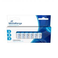 MediaRange premium batterie alcaline AA PILE STILO LR06 1.5v pack 10 pz MRBAT105
