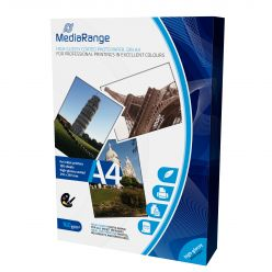 CARTA FOTOGRAFICA 160g LUCIDA GLOSSY A4 100 Fogli MRINK105 Mediarange
