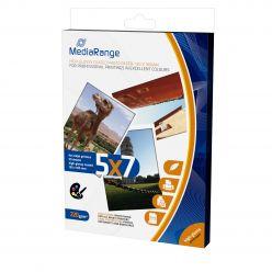 Carta Fotografica Mediarange Glossy Lucido 220g formato 130 x 180mm MRINK114 50 Fogli