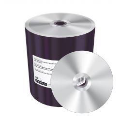 DVD-R PROFESSIONALI 16X 4.7GB 120MIN ARGENTO NO ID CAMPANA 100PZ MRPL608-C