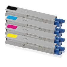 Toner compatibile OC3300BK NERO OKI C3300 C3400 C3450