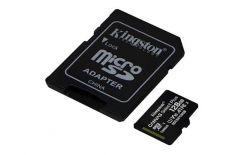 SCHEDA MICRO SDXC 128GB CANVAS SELECT PLUS UHS-I U1 KINGSTON SDCS2/128GB