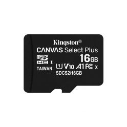 SDHC KINGSTON MICRO 16GB CANVAS SELECT Plus