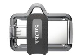 CHIAVETTA USB 3.0 + MICRO USB SANDISK 16GB ULTRA DUAL SDDD3-016G-G46
