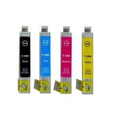 Cartuccia compatibile T1292 Ciano stampante Epson Stylus SX420W SX235W SX445W Office B42WD BX535WD BX925FWD WorkForce WF-7015 WF-7515 WF-7525