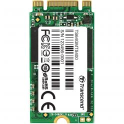 SSD M.2 64GB 2242, 560/460MB/s, MLC, SATA3 6GB/s TS64GMTS400S Transcend
