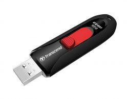 CHIAVETTA USB 2.0 8GB NERA TRANSCEND TS8GJF590K