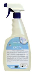 DETERGENTE SPRAY PER VETRI KRISTAL 750 ML