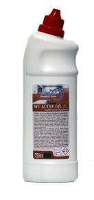 GEL DETERGENTE PER WC ACTIVE 750ML